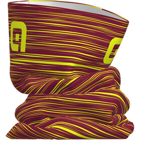 Alé Cycling The End Tubular Headgear bordeaux-fluo yellow